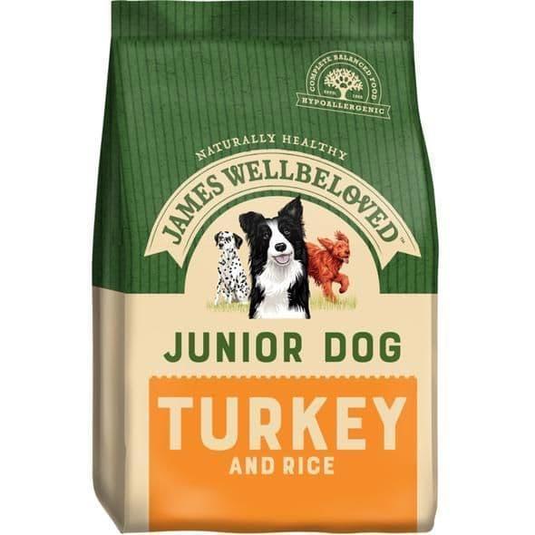 J/w junior turkey & rice